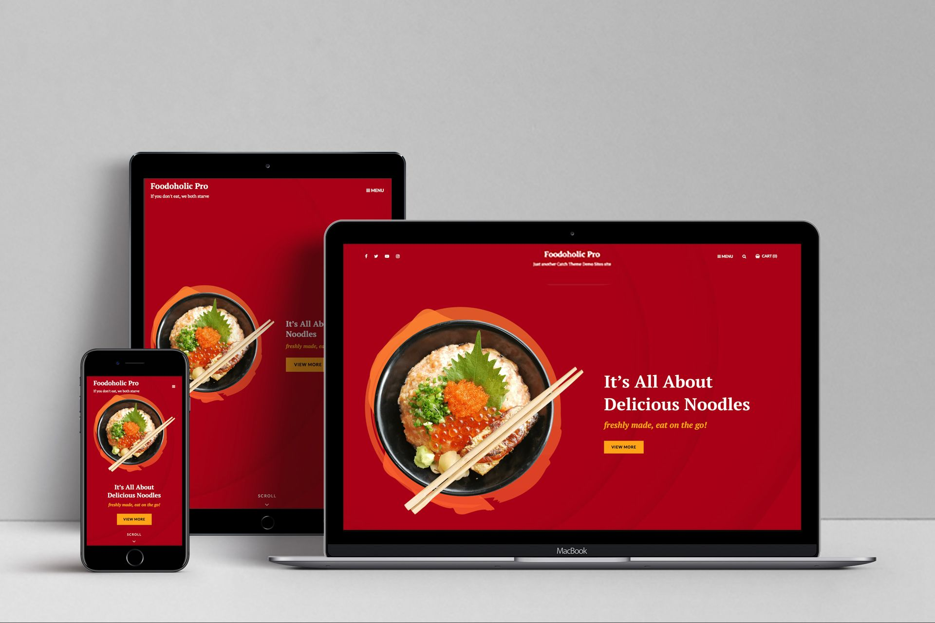 Foodoholic – Multipurpose Restaurant WordPress Theme